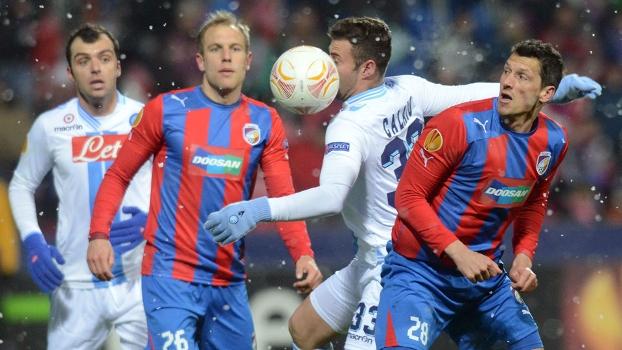 Napoli foi eliminado pelo Viktoria Pilsen na Europa League