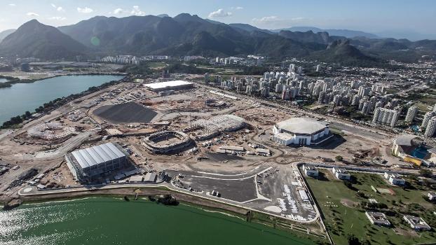Obra do Parque Olímpico da Barra da Tjuca é a mais cara dos Jogos de 2016