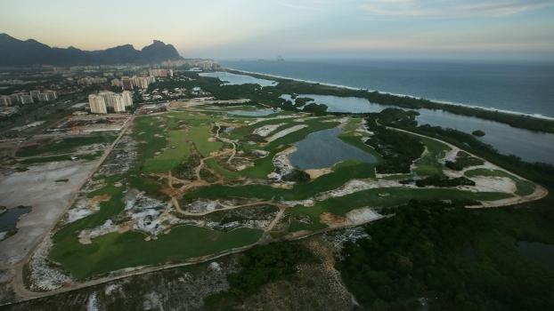 Campo de golfe do Rio-16 ficará pronto no prazo, disse projetista