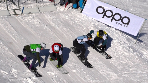 Jasey - ouro no Boardercross FIS