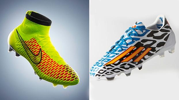 Nike e Adidas batalham pelo domínio do mercado de equipamentos de futebol