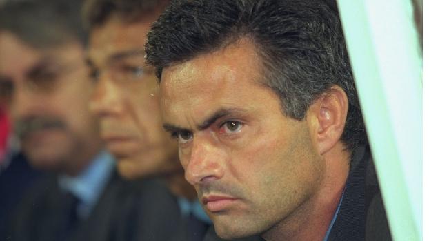 O português José Mourinho ainda no início de sua carreira