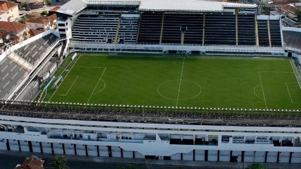 Vila Belmiro foi indicada à penhora, mas acabou rejeitada pela DIS