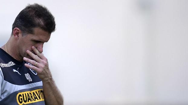Situação do Botafogo de Vagner Mancini é tensa