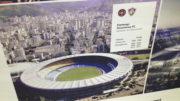 Maracanã é citado como estádio de Flamengo e Fluminense, que são chamados de competidores do Barcelona