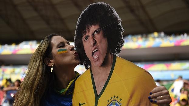 David Luiz se salvou, segundo julgamento das redes sociais
