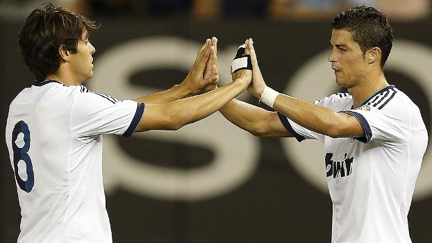 Kaká e Cristiano Ronaldo: os dois mais caros da segunda Era Galáctica, até Bale