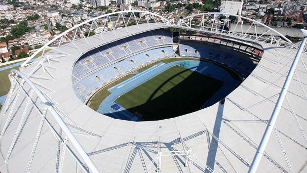 O anel inferior do Engenhão está liberado e Botafogo poderá usar estádio no Campeonato Carioca