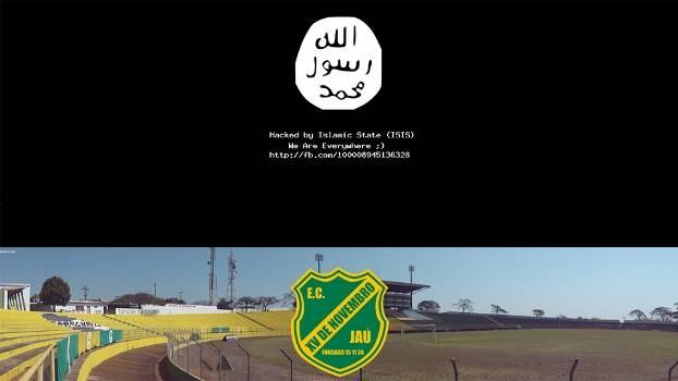 Site XV de Jau Hackeado Estado Islamico