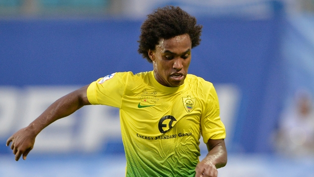 Willian está de saída do Anzhi