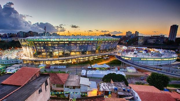 Arena Fonte Nova Salvador 20/06/2013