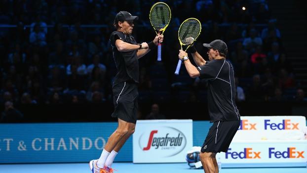 Irmãos Bryan estão na final do ATP Finals