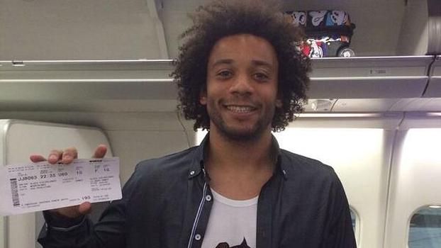 Marcelo está a caminho do Brasil