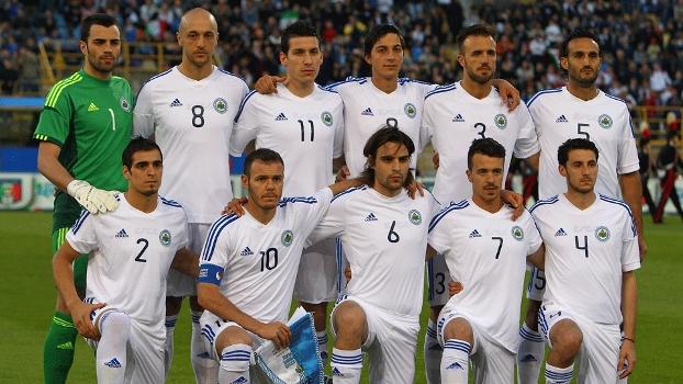 Seleção de San Marino tem apenas uma vitória em sua história; gol foi marcado pelo capitão e camisa 10, Andy Selva