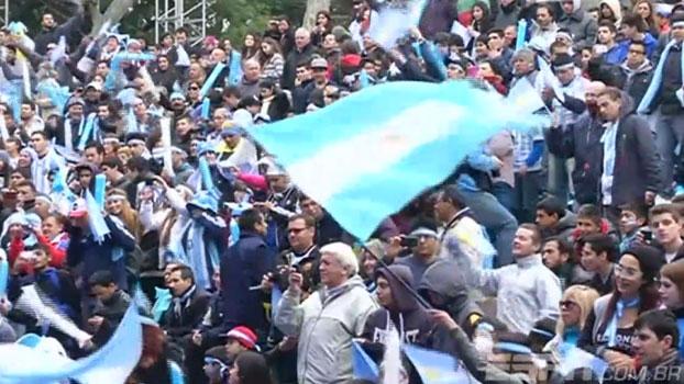 Foi no sufoco, mas os argentinos conseguiram se classificar; veja a reação da torcida
