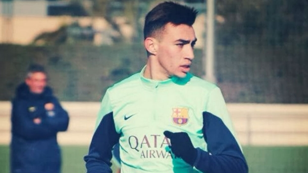 El Haddadi é o artilheiro do Barcelona na Champions sub-19 e já fez pré-temporada com os profissionais