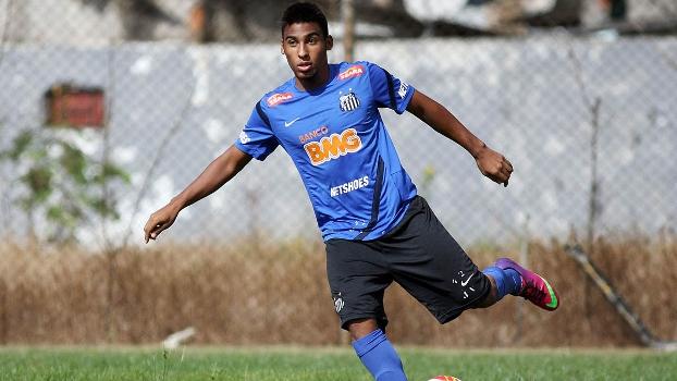 Joshua Filho Pelé Treino Santos 08/05/2013