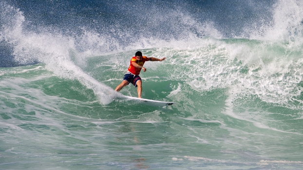 William Cardoso e Jean da Silva bateram mais uma vez na trave. Nas etapas do Hawaii deixaram a desejar.
