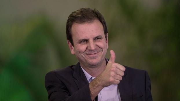 O prefeito do Rio, Eduardo Paes, em evento em junho de 2014