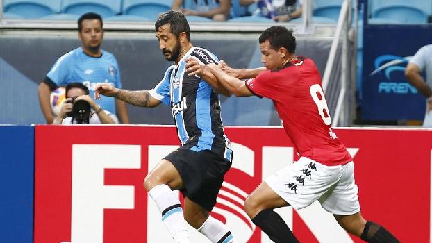 Douglas ainda está devendo em seu retorno ao Grêmio