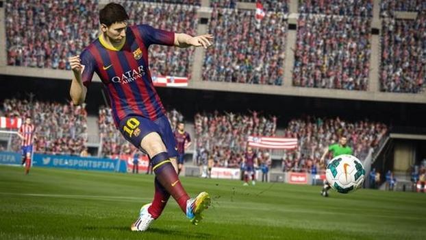 Imagem durante o jogo do Fifa 15