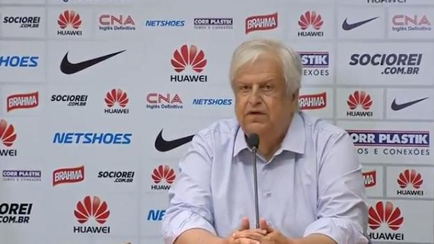 Modesto Roma Jr, novo presidente do Santos