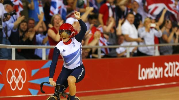 Victoria Pendleton já ganhou uma medalha de ouro em Londres-2012 e pode levar a segunda nesta terça