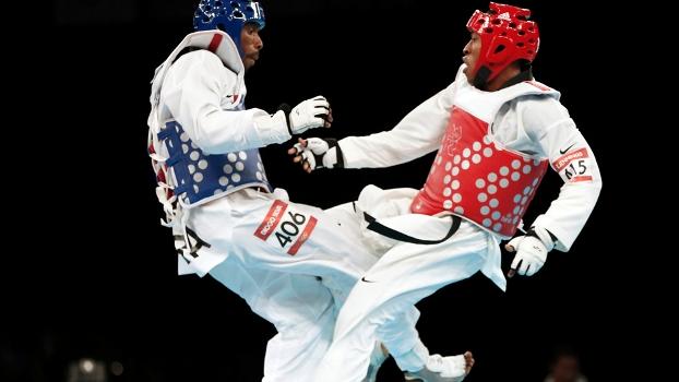 Diogo Silva, por pouco, não levou o bronze no taekwondo