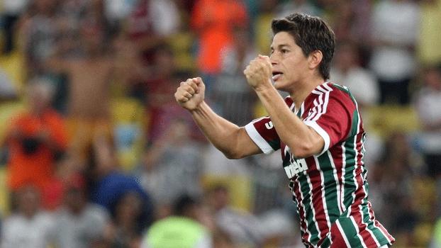 Conca abriu o placar para o Fluminense contra o Horizonte