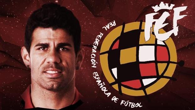 Diego Costa vai jogar pela seleção da Espanha