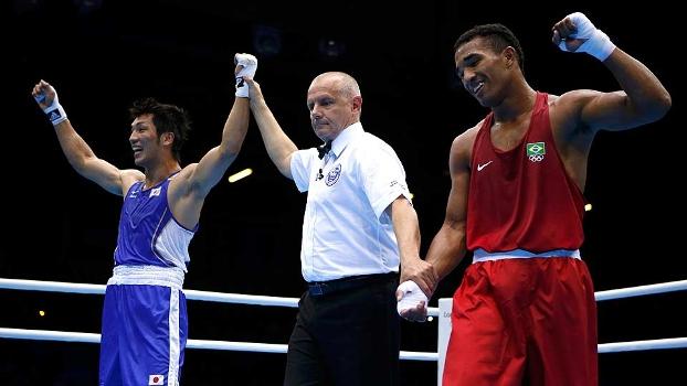 Ryoto Murata é decretado vencedor na final olímpico com Esquiva Falcão