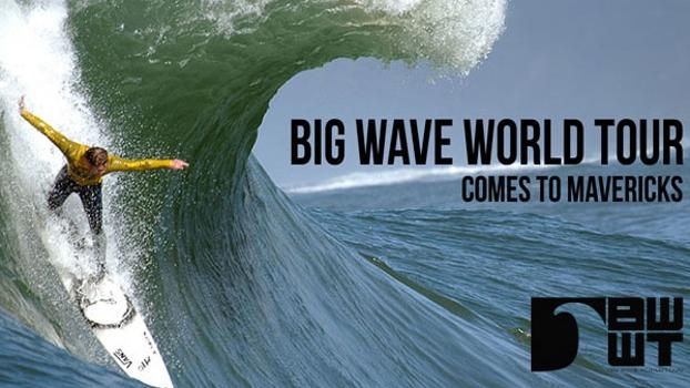 Evento de ondas grandes... ou melhor, enormes, geladas e pesadas!