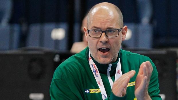Morten Soubak, técnico da seleção feminina de handebol campeã do mundo