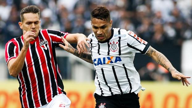 O atacante peruano foi um dos melhores em campo neste domingo