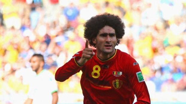 Fellaini comandou virada da Bélgica contra Argélia nesta terça-feira
