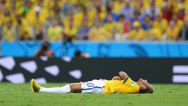 Neymar não atuará mais na Copa do Mundo após fraturar a vértebra