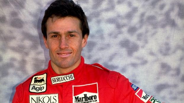 Andrea de Cesaris, com o macacão da Scuderia Itália de Fórmula 1, em 1980