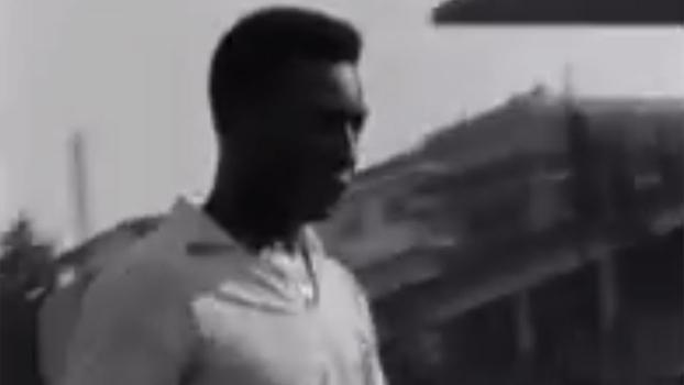 Pelé se prepara para o Corinthians 4x7 Santos