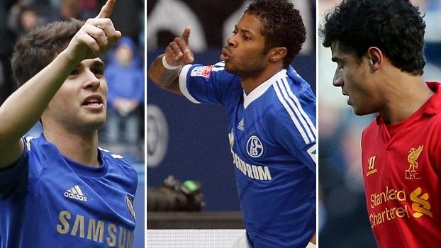 Oscar (Chelsea), Michael Bastos (Schalke) ou Phileppe Coutinho (Liverpool): quem foi o melhor brasileiro?