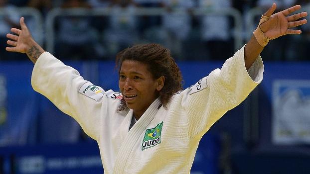 Judô Mundial Rio de Janeiro Rafaela Silva Chora Após Ouro Contra Matt Maloy EUA