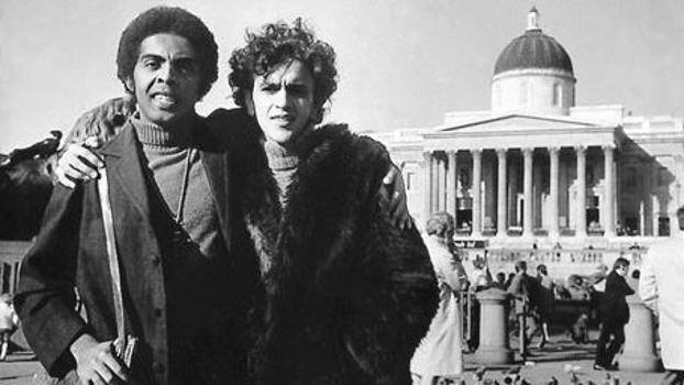 Gilberto Gil e Caetano Veloso moraram em Londres quando foram exilados na ditadura militar