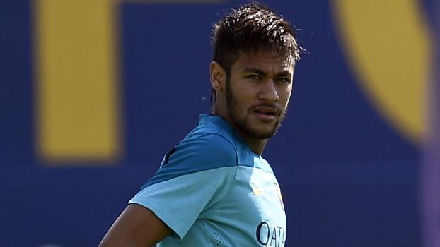 Neymar continua com a lesão no tornozelo e não poderá enfrentar o Elche