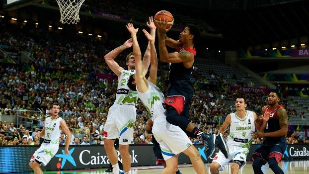 Estados Unidos venceu a Eslovênia e avançou à semifinal do Mundial
