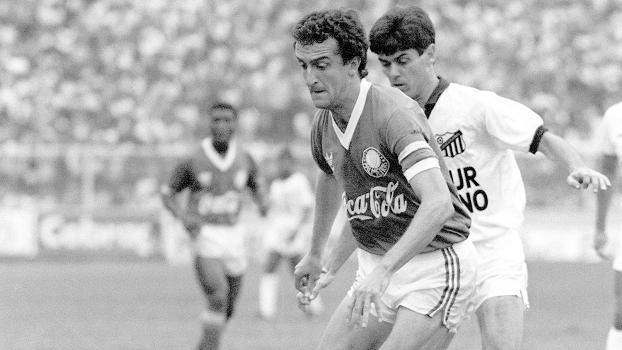 Dorival Jr Palmeiras Bragantino Campeonato Paulista 1989 25/05/1989