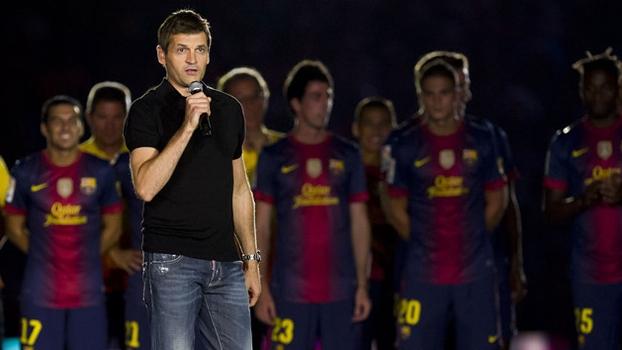 Tito Vilanova deixou o Barcelona para seguir tratamento contra câncer