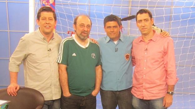 Miguel Nicolelis com os Loucos por Futebol