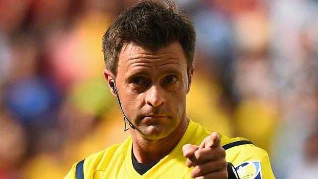Nicola Rizzoli foi o árbitro na vitória da Alemanha sobre a Argentina