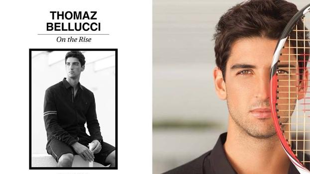 Thomaz Bellucci Posa Revista Azzarenko