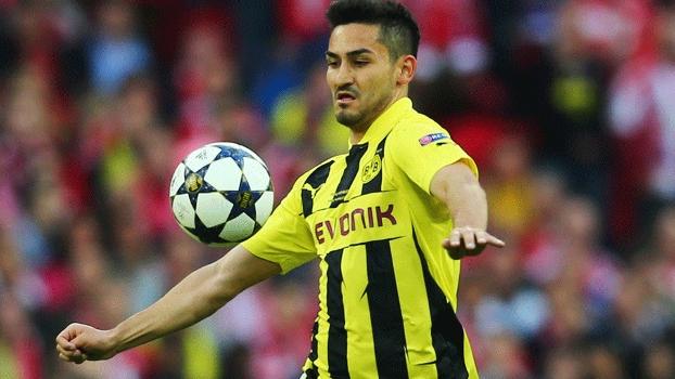 Volante Gundogan, do Borussia Dortmund, desfalcará Alemanha na Copa do Mundo