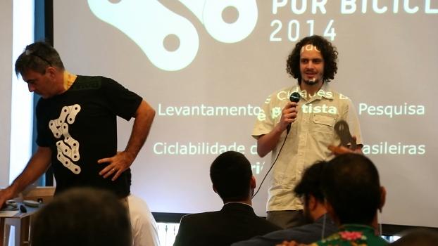 Yurié Batista recebe Prêmio Promovendo a Mobilidade por Bicicleta no Brasil